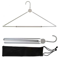 Aluminum Folding Coat Hanger