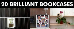 20 Brilliant Bookcases