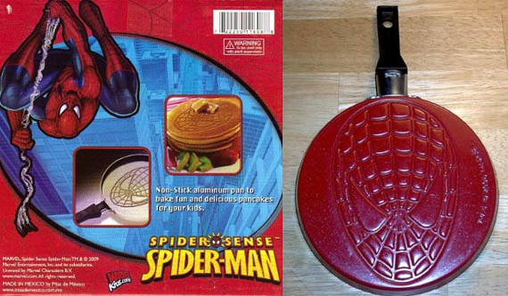 I pancakes di Spiderman