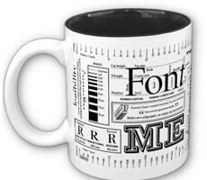 Typography Coffee Mug