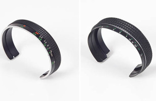 Recycled Camera Lens Cuff Bracelets Make Flashy Accessories