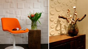 3D Wall Coverings Make Your Walls Pop