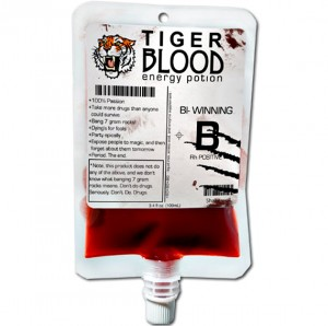 Drink Tiger Blood; Adonis DNA Sold Separately