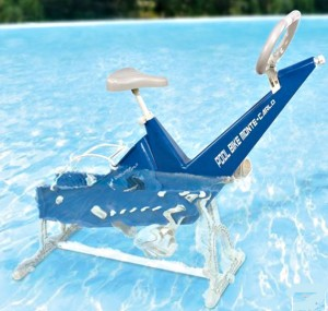 In Pool Exercise Bike Is Perfect For Senior Aquatics