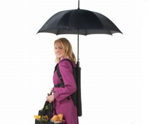 Another Hands-Free Umbrella