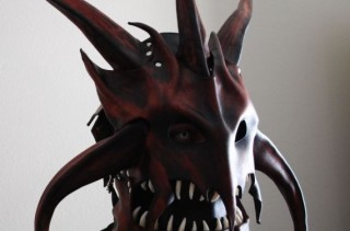 The Dragon King Leather Helm Is Terrifying And Amazing