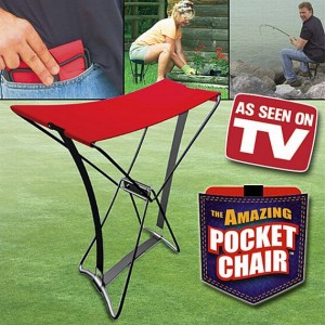 Take A Seat Anywhere With The Pocket Chair