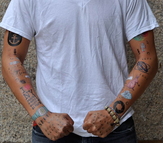 Move Over Tribal Temporary Tattoos