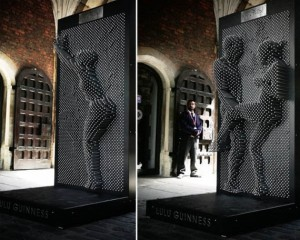 Art Installation Turns Bystanders Into Pin-Ups