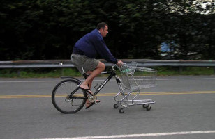 Biking To The Supermarket Made Easy