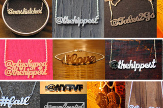 Wear Your Hashtag On Your Neck