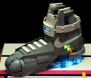 Nike Back To The Future Shoes Iron Man