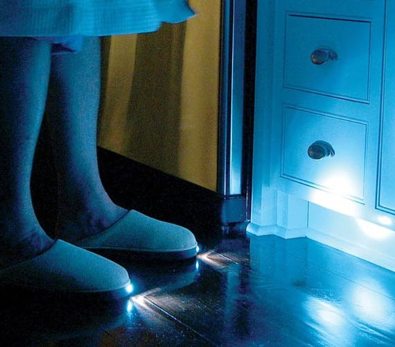 LED Light Slippers Are The Furthest Thing From Sexy. Ever.