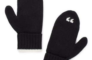 """To """"Keep You Warm"""" Or Something: Air Quote Mittens"""