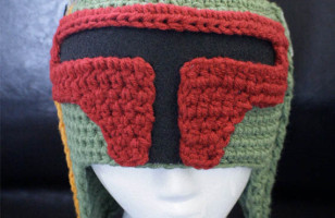 Boba Fett Looks Cool While Staying Warm