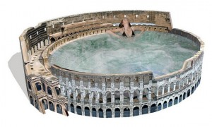 The Roman Colosseum Hot Tub
