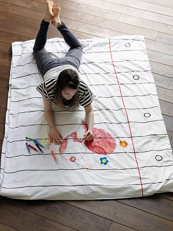 Design It Yourself Doodle Duvet