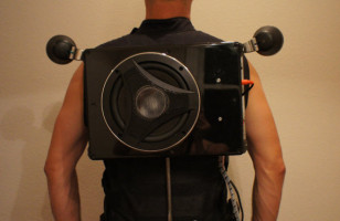 Speaker Vest with 8″ Subwoofer