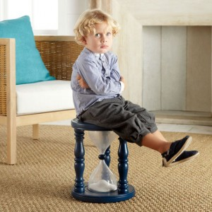 Aint Misbehavin': Time-Out Timer Stool