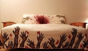 Night Terrors Guaranteed: Zombie Bedding
