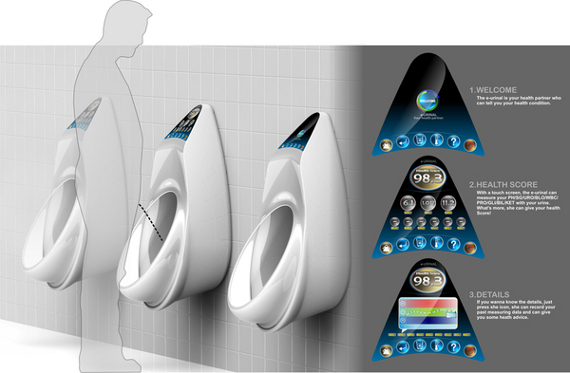 E-Urinal For Monitoring Your Pee's Health
