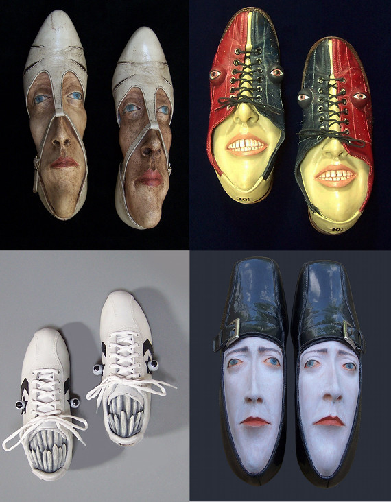 These Shoes Got Sole: Shoe Sculptures