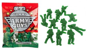 Yummy Gummi Green Army Men