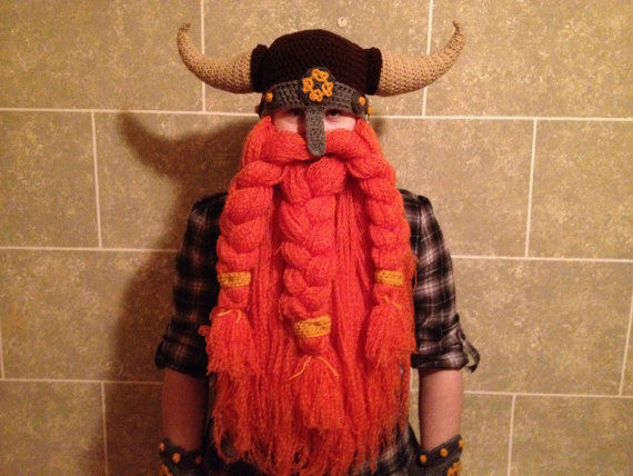 Crochet Dwarf Beard Hat Pattern : Viking Beard Hat Images & Pictures - Becuo
