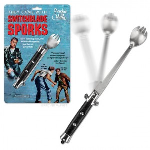 Always Prepared: Switchblade Spork