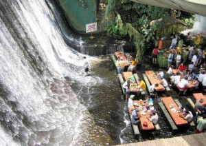 Too Alfresco: Waterfall Restaurant