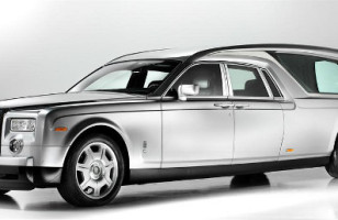 Unnecessary: Rolls Royce Phantom Hearse