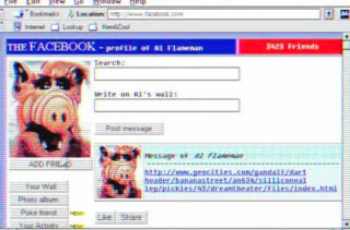 What Facebook Would Have Looked Like In The '90s