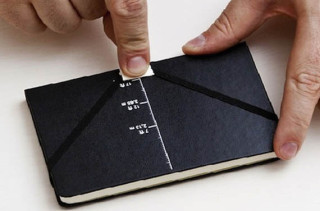 Moleskine Notebook That Shoots Messages Across The Room