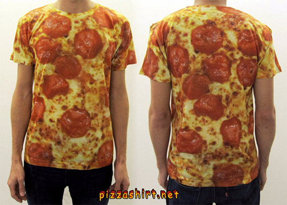 You Are What You Eat: Pizza Shirt