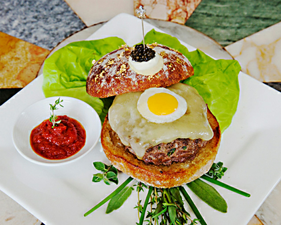 Le Burger Extravagant: Most Expensive Hamburger Ever