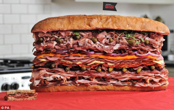 Man V Food Sandwich Recipes
