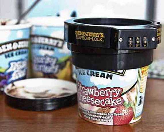 Ben & Jerry's Pint Combination Lock