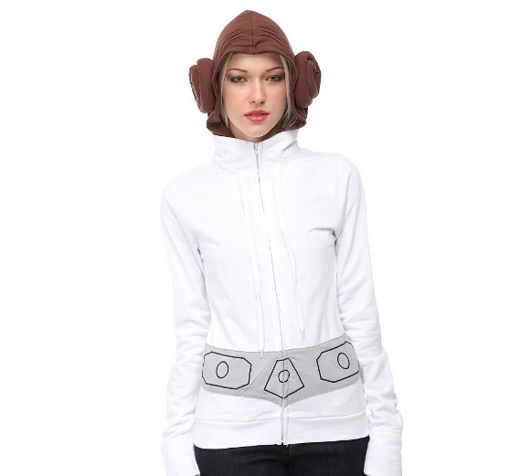 DO WANT: Princess Leia Hoodie With Buns