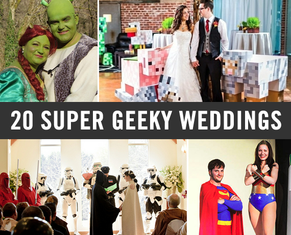 Wedding Gift Ideas For Nerds : 20 Super Geeky Weddings Incredible Things
