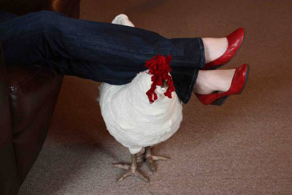 Are Chicken Footstools Country Chic?