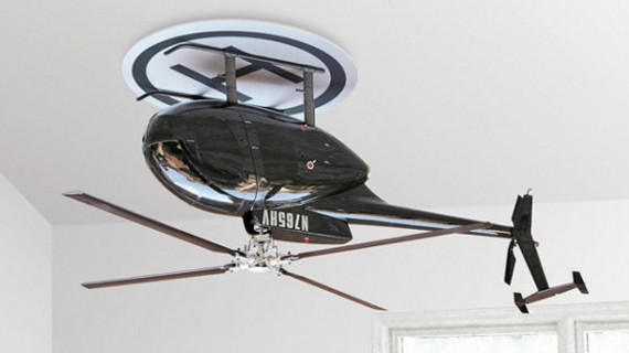 Inverted Helicopter = Ceiling Fan