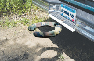 When Nature Calls: Off-Road Commode