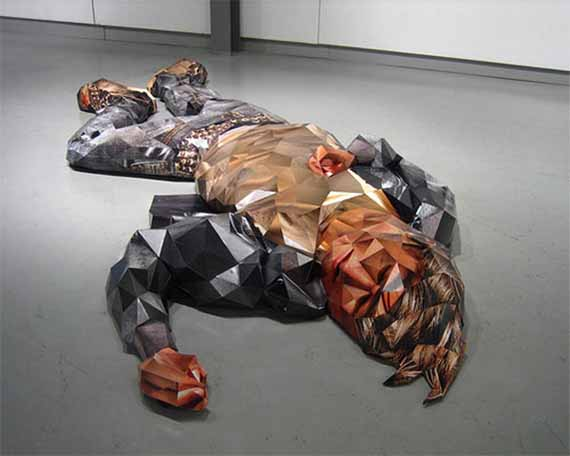 Amazing 3D Photo Sculptures