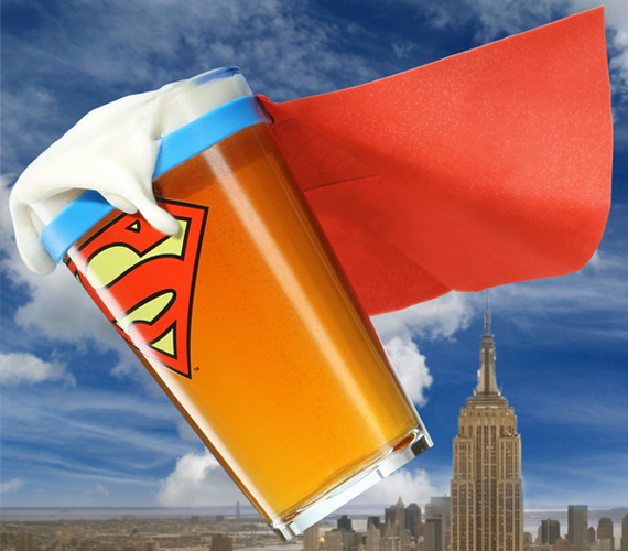 It's A Beer, It's A Pint… It's Superman!
