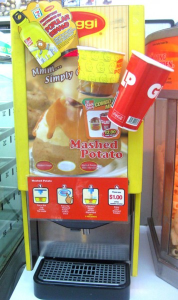 7-11 Now Serving Mashed Potato Slurpee