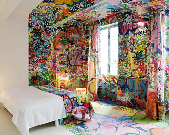 Graffitied Accommodations That Don 39 T Include Sleeping On