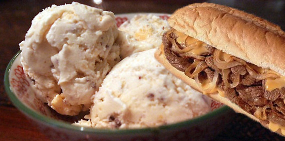 Say Whaaa?: Philly Cheesesteak Ice Cream