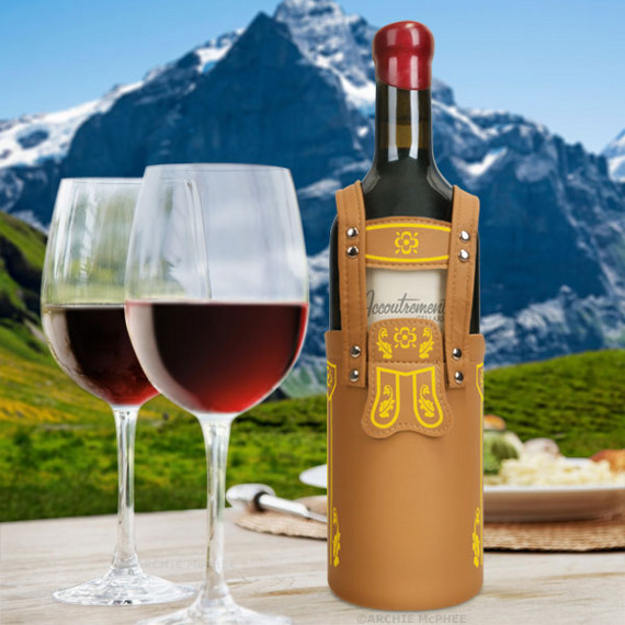 Vinderhosen: Lederhosen For Your Wine
