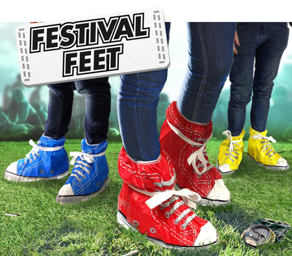 Say No To Mud With Festival Feet