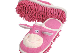Put Your Kids To Work Slippers